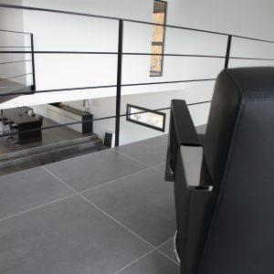 Construction à toit plat - premier étage