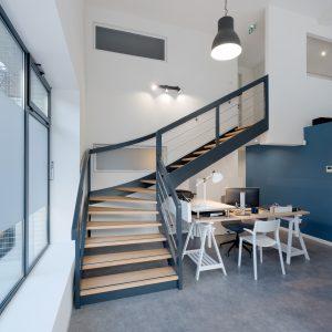 Rénovation et aménagement intérieur - escalier