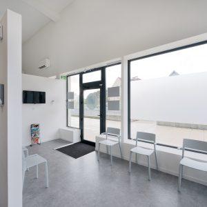 Rénovation et aménagement intérieur - salle d'attente