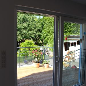 Extension et rénovation - terrasse
