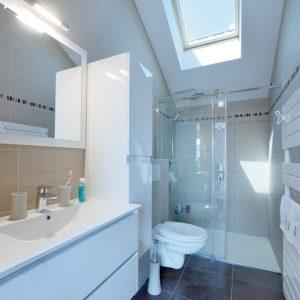Réhabilitation d'une grange - salle de bain